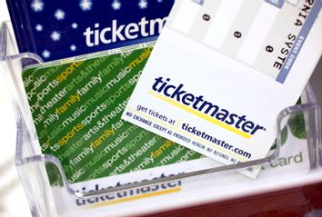 Ticketmaster tickets and gift cards
