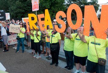 Treason Protesters