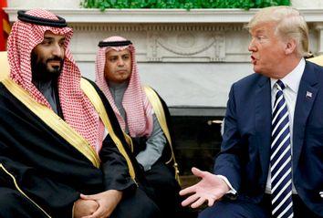 Saudi Crown Prince Mohammed bin Salman ; Donald Trump