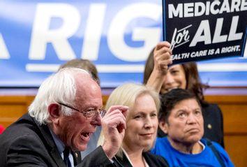 Bernie Sanders, Kirsten Gillibrand Health Care