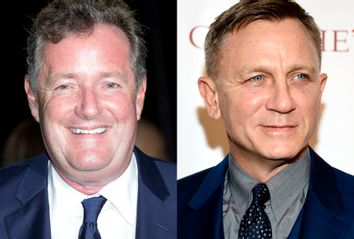 Piers Morgan; Daniel Craig
