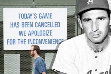 Sandy Koufax; MLB Strike