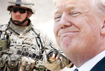 Donald Trump; US Army