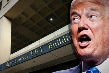 Donald Trump; FBI's J. Edgar Hoover headquarter building