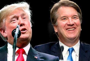 Donald Trump; Brett Kavanaugh