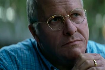 Christian Bale as Dick Cheney in