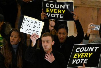 Election Count Protest