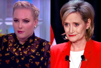 Meghan McCain; Cindy Hyde-Smith