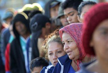 Migrant Caravan Tijuana Mexico