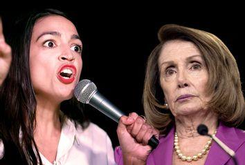Alexandria Ocasio-Cortez; Nancy Pelosi