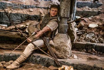 Taron Egerton as Robin Hood in