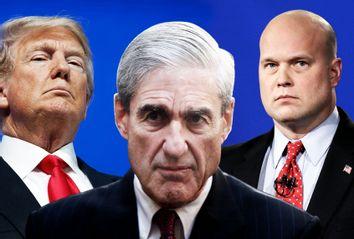 Donald Trump; Robert Mueller; Matthew Whitaker