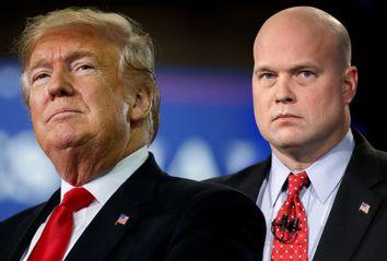 Donald Trump; Matthew Whitaker