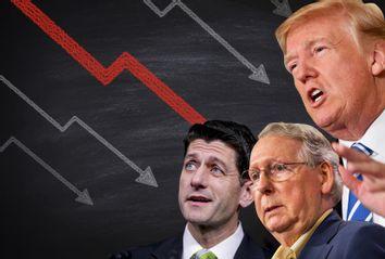 Paul Ryan; Mitch McConnell; Donald Trump