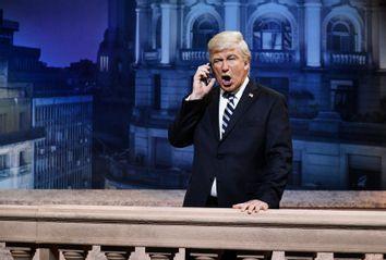 Alec Baldwin as Donald Trump on