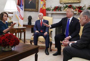 Nancy Pelosi; Mike Pence; Donald Trump; Chuck Schumer