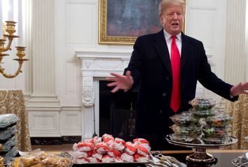 Donald Trump Fast Food