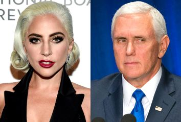 Lady Gaga; Mike Pence