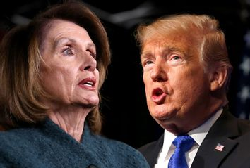 Nancy Pelosi; Donald Trump