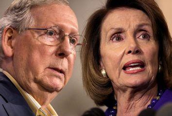 Mitch McConnell; Nancy Pelosi