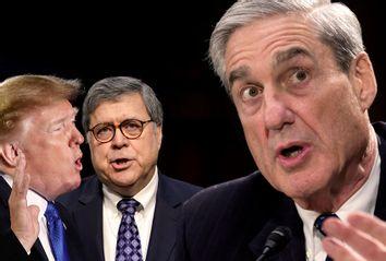 Donald Trump; William Barr; Robert Mueller