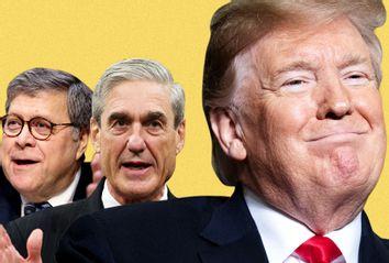 William Barr; Robert Mueller; Donald Trump