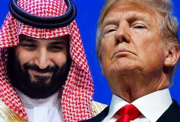 Saudi Arabia's Crown Prince Mohammed bin Salman; President Donald Trump