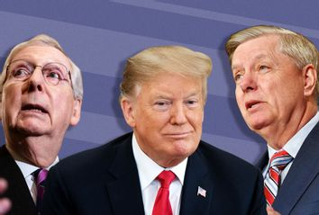 Mitch McConnell; Donald Trump; Lindsey Graham