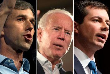 Beto O'Rourke; Joe Biden; Pete Buttigieg