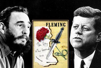 Fidel Castro; John F. Kennedy