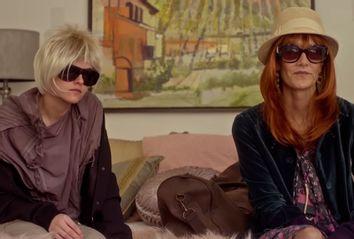 Kristen Stewart and Laura Dern in