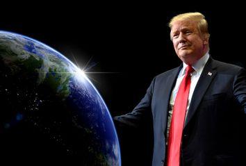 Donald Trump; Planet Earth