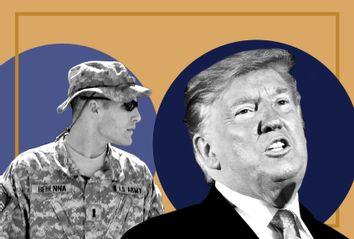 1st Lt. Michael C. Behenna; Donald Trump