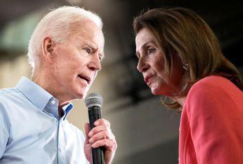 Joe Biden; Nancy Pelosi