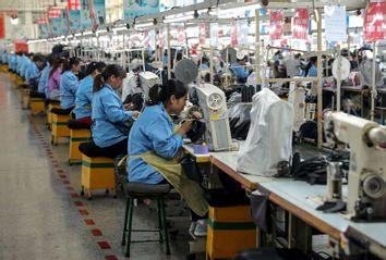 Shoe Factory Qingdao, China