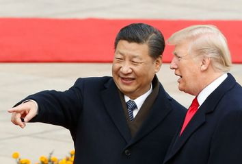 Xi Jinping; Donald Trump