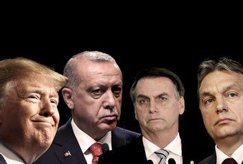 President Donald Trump; Turkey's President Recep Tayyip Erdogan; Brazil's President Jair Bolsonaro; Hungary's Prime Minister Viktor Orban