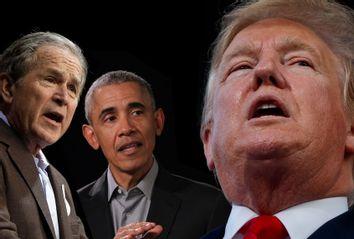George W. Bush; Barack Obama; Donald Trump