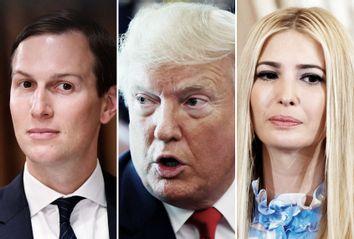 Jared Kushner; Donald Trump; Ivanka Trump