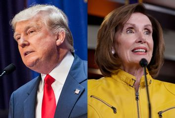Donald Trump; Nancy Pelosi