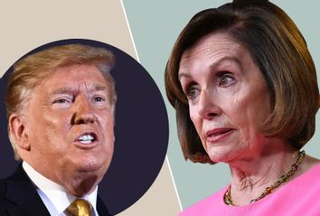 Donald Trump; Nancy Pelosi