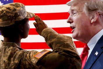 US Veteran; Donald Trump