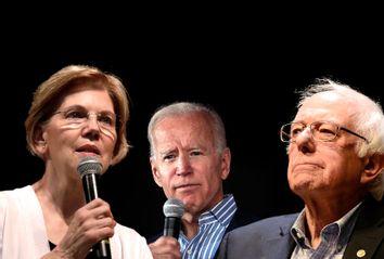 Elizabeth Warren; Joe Biden; Bernie Sanders