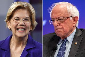 Elizabeth Warren; Bernie Sanders
