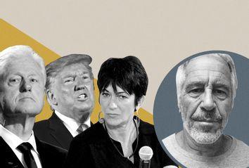 Bill Clinton; Donald Trump; Ghislaine Maxwell; Jeffrey Epstein