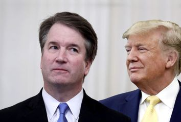 Brett Kavanaugh; Donald Trump