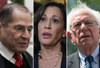 Jerry Nadler; Kamala Harris; Bernie Sanders