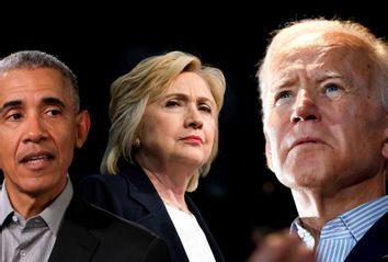 Barack Obama; Hillary Clinton; Joe Biden
