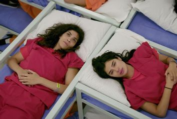 Laura Gomez and Diane Guerrero in
