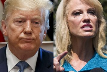 President Donald Trump; Counselor to the President Kellyanne Conway